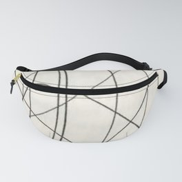 Irregular Waves Fanny Pack
