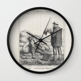 Well, are you finally finished . after all, it's tiring to relax for such a long time, from 'The cou Wall Clock