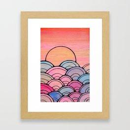 Searise Framed Art Print