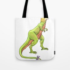 Becky was afraid she wouldn't fit in. Tote Bag