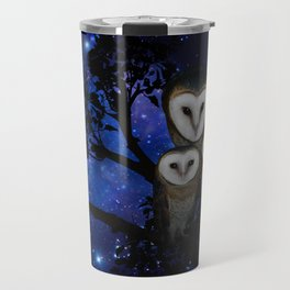 Owl Family Travel Mug