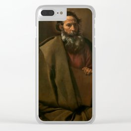 """Diego Velázquez """"Saint Paul"""" Clear iPhone Case"""