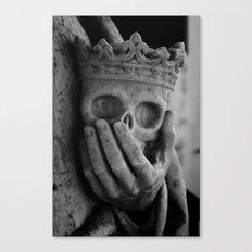 Death at Hand  Canvas Print