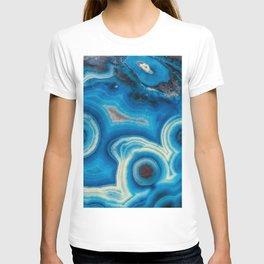 Blue Raindrop Agate 0026 T-shirt