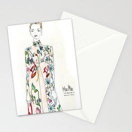 Miu Miu Illustration  Stationery Cards