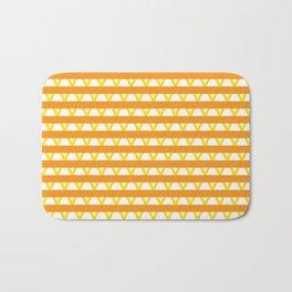 Paranoia (Orange and Yellow) Bath Mat