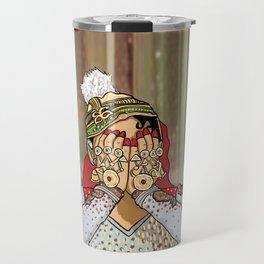 Madhubala Travel Mug