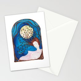 night muse Stationery Cards