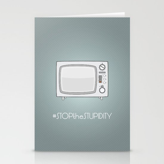 STOPtheSTUPIDITY Stationery Cards