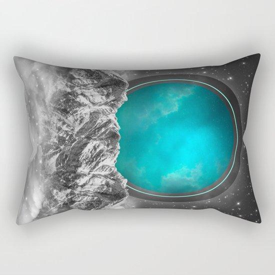 Fade Away | Lunar Eclipse Rectangular Pillow