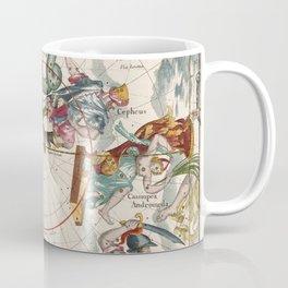 Vintage Star Atlas - Constellation Map Coffee Mug