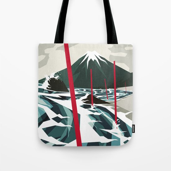 Breaking the Waves II Tote Bag