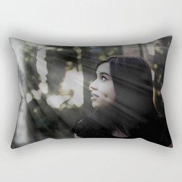 Brilho no olhar Rectangular Pillow