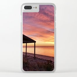 Sunrise at Billy Goat Flat, Pine Point Yorke Peninsula Clear iPhone Case