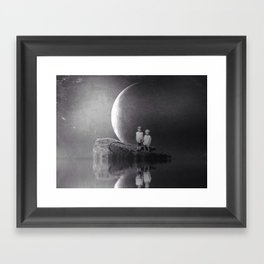 Arlyn and E.L. Framed Art Print
