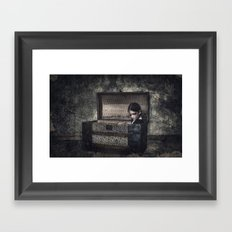 What the Attic Found Framed Art Print