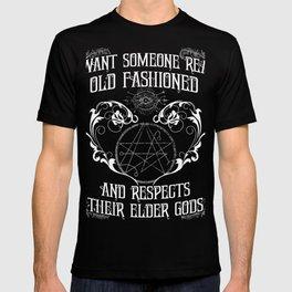 Respect Your Elder Gods T-shirt