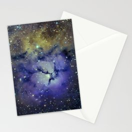 Pansy in Space Stationery Cards