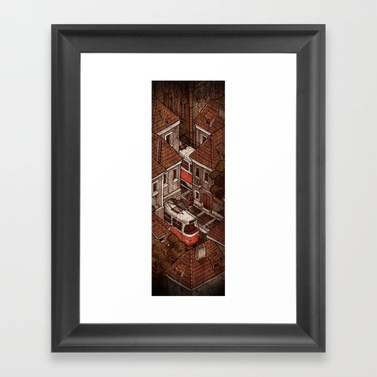 Bohemia 2/2 Framed Art Print