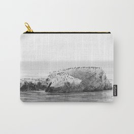 Bird Rock on Shell Beach Carry-All Pouch