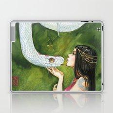 The White Snake Laptop & iPad Skin