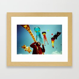 DUDI AND ALL HIS FRIENDS Framed Art Print