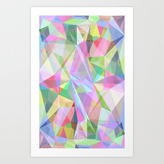 Graphic 32 Y Art Print