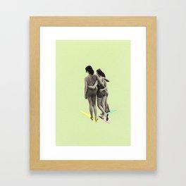 Beach Belles Framed Art Print