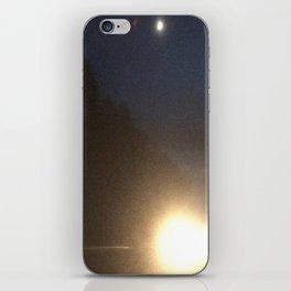 Abstracte Light Art in the Dark 4 iPhone Skin