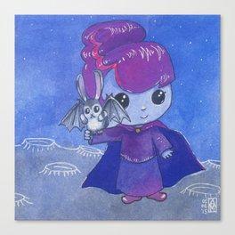Moonkhin Iridum Violet Canvas Print