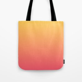 Ombré Pink Gold Tote Bag