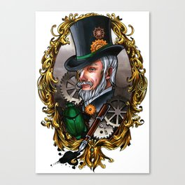 Steampunk Dandy Canvas Print