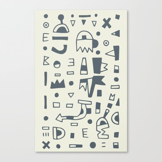 Pattern v10 Canvas Print