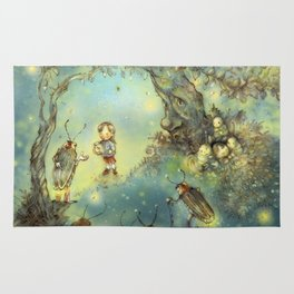 Firefly Forest Rug