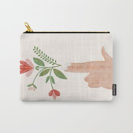 Floral Pistol Carry-All Pouch