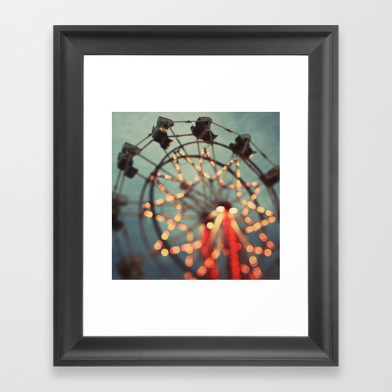 Starfall Framed Art Print
