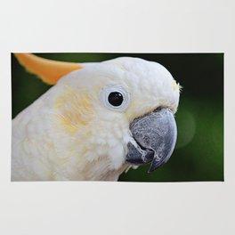 Citron-Crested Cockatoo Rug
