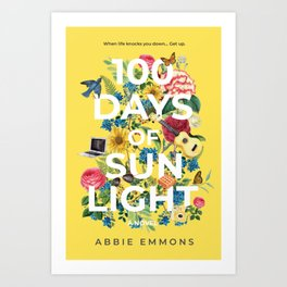 100 Days of Sunlight Cover Art Art Print