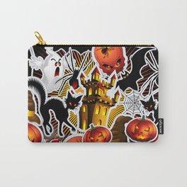 Halloween Spooky Cartoon Saga Carry-All Pouch