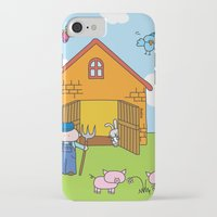 farm iPhone & iPod Cases featuring Farm by oekie