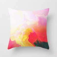 Glitch 05 Throw Pillow