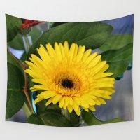 sunshine Wall Tapestries featuring Sunshine  by IowaShots