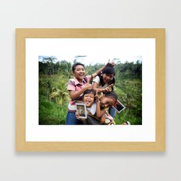 I click, you click, we click! Framed Art Print
