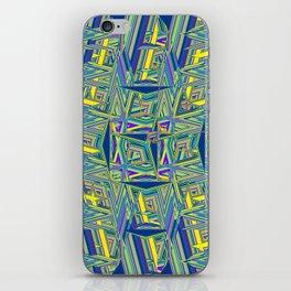 Abstract BBZ ZZZ iPhone Skin