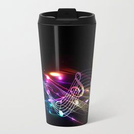 Music Notes in Color Travel Mug