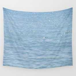 Blue Sparkle Wall Tapestry