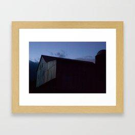 Beard's Barn Framed Art Print