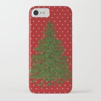 christmas tree iPhone & iPod Cases featuring *(Christmas) Tree* by Mr and Mrs Quirynen