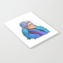 Vergil | Cyan Rose | DMC5 Notebook