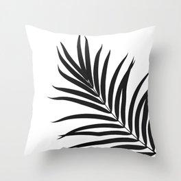 Tropical Palm Leaf #1 #botanical #decor #art #society6 Throw Pillow